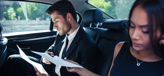 Déplacement professionnel dans la région de Rumilly avec chauffeur privé